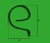 Contrarc ureche arc 32x10